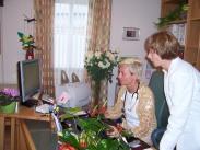 Hospitation der Hessischen Sozialministerin Silke Lautenschläger bei uns